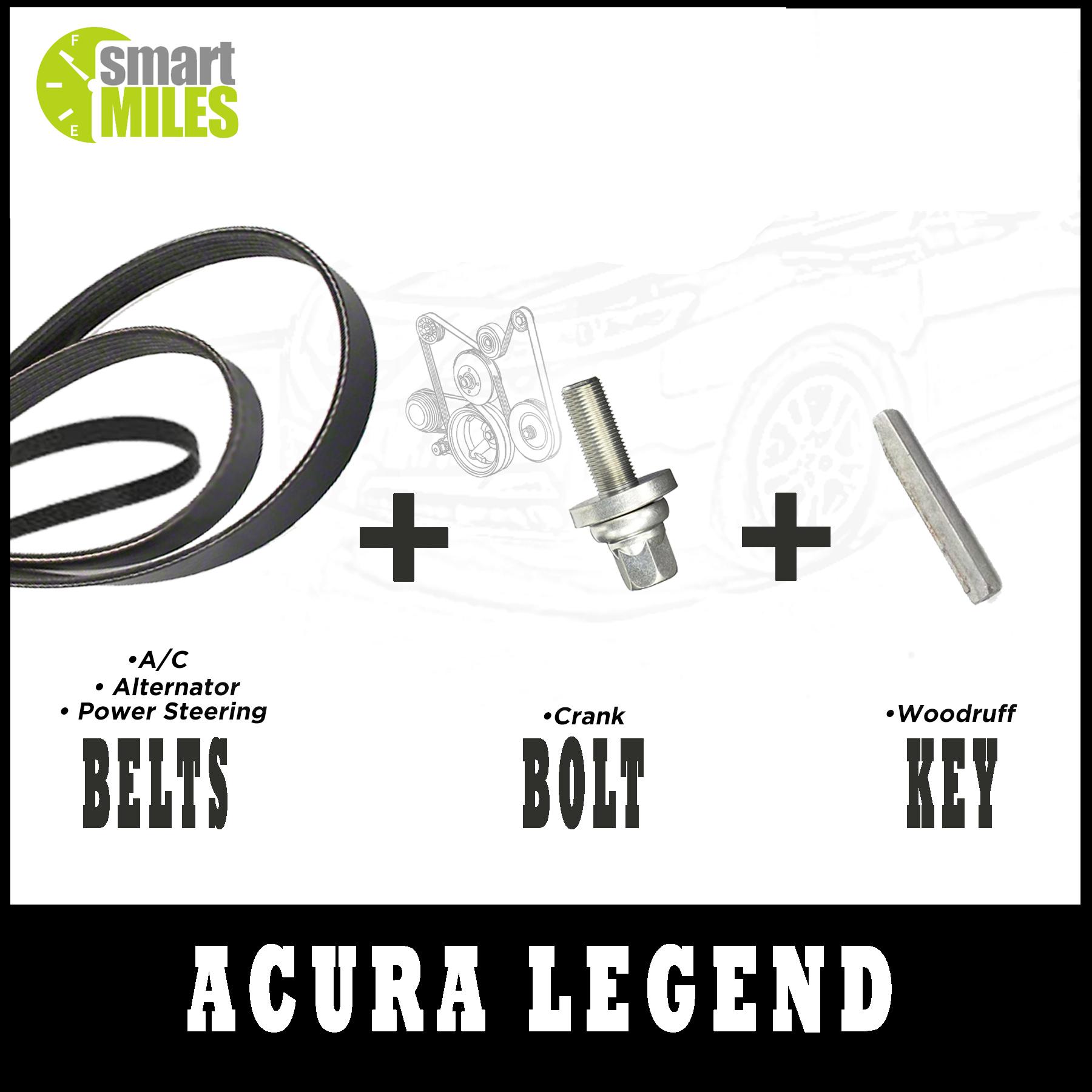 Harmonic Balancer Replacement Kit 1991-1995 Acura Legend